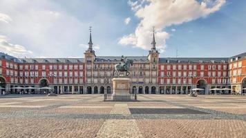 Madrid ciudad durante el día España foto