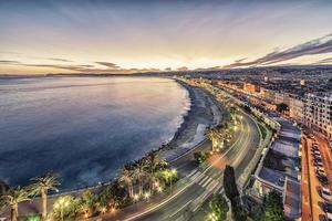 The city of Nice on the French Riviera photo