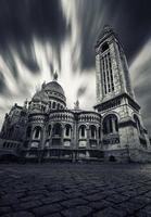 Basílica del Sacre Coeur en Montmartre Paris foto