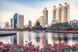 Bangkok city in the daytime photo