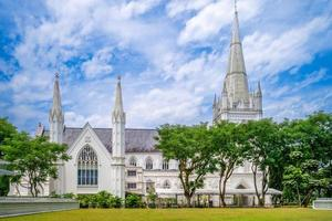 Saint Andrew Cathedral in Singapore photo