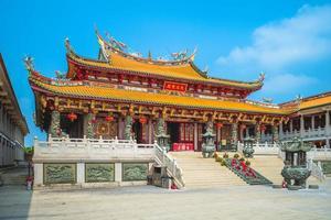 un pueblo cultural de ma en macao en china foto