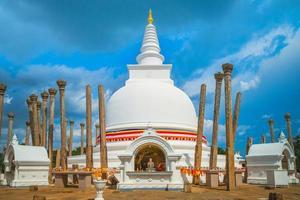 thuparamaya es el primer templo budista en sri lanka foto