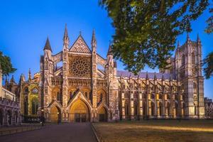 Abadía de Westminster en Londres, Inglaterra, Reino Unido. foto