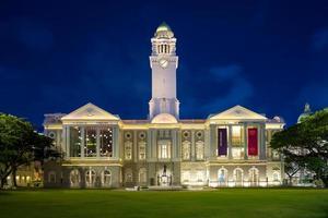 Teatro Victoria y sala de conciertos en Singapur. foto