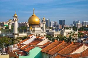 Sultan Masjid in Singapore photo