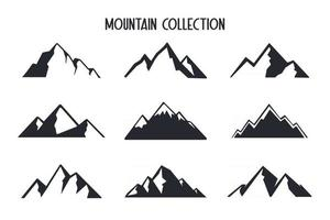 Mountain vector Camping activity ideas Hiking in summer Isolated on background