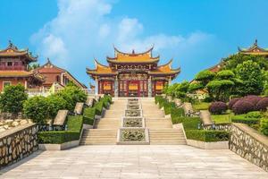 un pueblo cultural de ma en macao, china foto