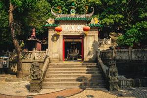 A ma temple is a temple to the Chinese sea goddess Mazu, in Macau, China photo