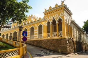 Moorish Barracks located in Macau in China photo