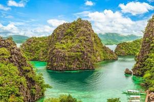 Kayangan lake, Coron Palawan, Philippines photo