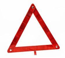 Triangular safety reflector spare part photo