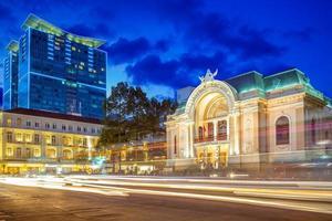 Municipal Theatre of Ho Chi Minh City, Vietnam photo