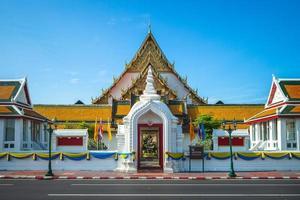 Wat Suthat en Bangkok, Tailandia foto
