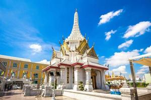 Lak Mueang city pillar shrine in Bangkok, Thailand photo