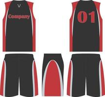 Double Play Softball Jersey and Shorts vector