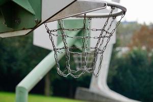 street basketball hoop photo