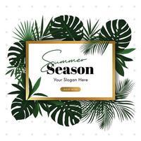 Super Cool Summer Season Background vector illustration