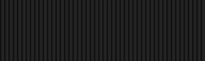 Tecnología negra rayas abstractas encabezado oscuro metálico diseño de banner geométrico ilustración vectorial vector