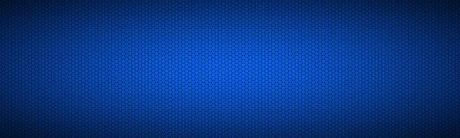 Blue background with hexagonal grid header Abstract stainless steel banner Modern creative design temlates Colorful vector illustration
