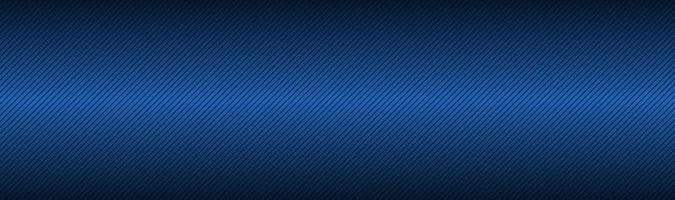 Black and blue abstract header with diagonal lines Metallic technology banner Modern vector illustration