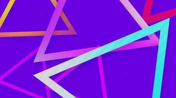 moderno bonito gradiente abstrato de fundo video