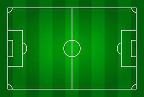 Green color football stadium field  Top view  Vector for international world championship tournament