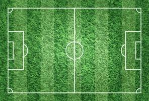 Realistic illustration football or soccer field with turf texture background  Image for international world championship tournament 2018 concept vector