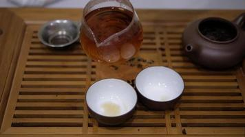 man giet thee van chahai in kommen video