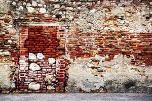 Walled in door photo