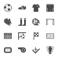 Soccer Icons Sign Vector illustration