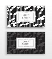 Templates business cards vector
