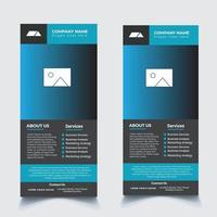 Business Flyer Design Dl Flyer Rack Card For Marketing vector