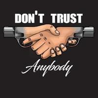 trust anybody symbol vector
