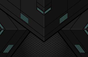 minimal negro techno fondo ilustración abstracto forma geométrica moderna futurista vector
