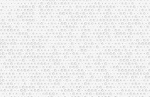Abstract white background textured with circle halftone element vector