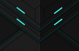 3d realistic dark techno background Illustration Abstract geometric shape modern futuristic vector
