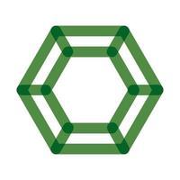 diamond luxury stone multiply line style icon vector