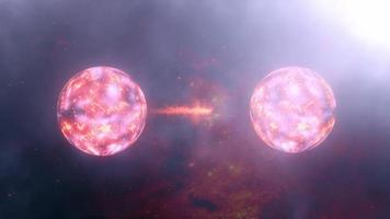 Seamless Loop Quantum state Two particles share coherence video