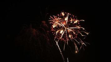 4. Juli Feuerwerk video