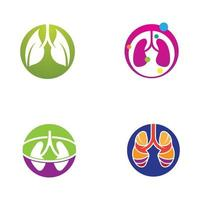 Lungs Care Logo Template Design Vector Lungs health
