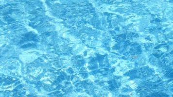 texture d'ondulation de la piscine d'eau video