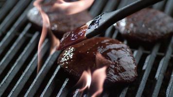 steak barbecue, geschoten op phantom flex 4k video
