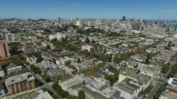 san francisco, californie, prise de vue aérienne video