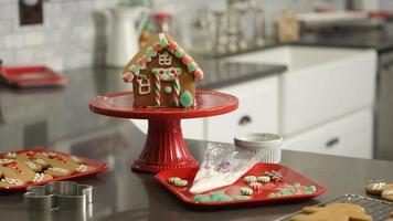 Baking for Christmas video