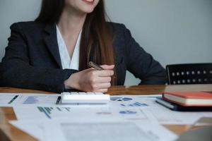 Bookkeeper accounting concept photo