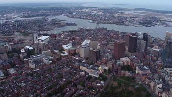 Luftaufnahme von Boston, Massachusetts? video