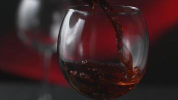 Wine pouring in super slow motion, shot on Phantom Flex 4K video