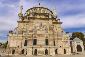 Laleli Mosque in Istanbul Turkey photo