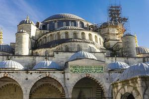Sultan Ahmed Mosque Blue Mosque in Istanbul Turkey photo